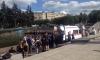 Водная битва на Московской площади чуть не закончилась трагедией