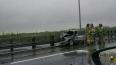 В Санкт-Петербурге на дамбе серьезное ДТП