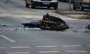 В Гатчинском районе мотоциклист столкнулся с иномаркой