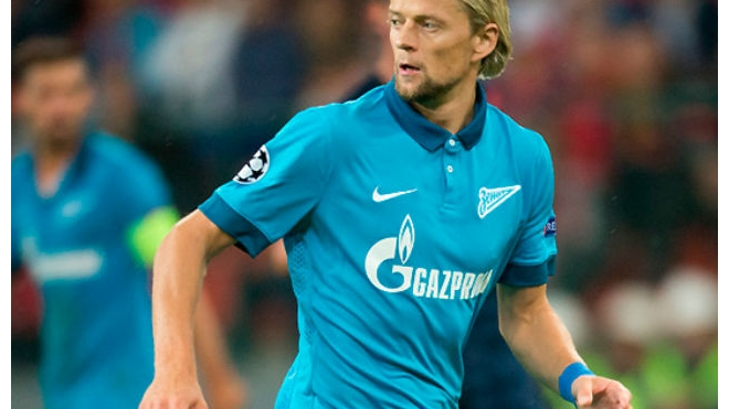 Анатолий Тимощук впервые после травмы вернулся к общим тренировкам Зенита