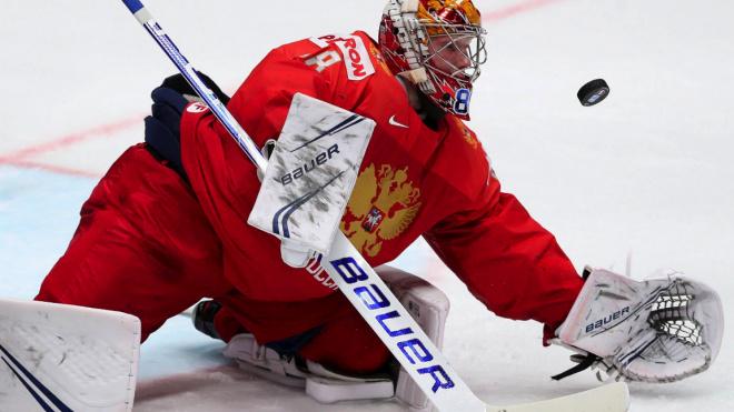 Сборная России по хоккею победила команду США