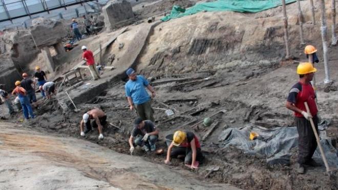 Страсти на Охте. Газпром-сити перенесли, а объекты культурного наследия продолжают разрушать
