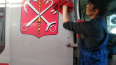 Вагоны петербургского метро моют каждый день