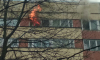 На Суздальском проспекте тушили пожар в многоэтажном доме