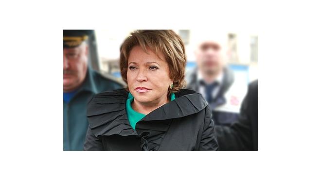 Собираясь в отпуск, Матвиенко пообещала в будущем лоббировать интересы Питера
