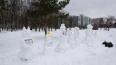В Муринском парке снеговики бастовали против застройки
