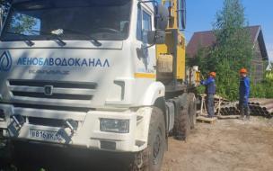 В поселке Рощино запустят скважину с чистой водой