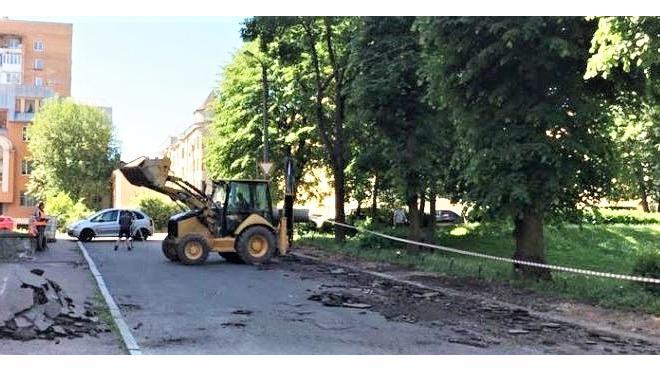 В Выборге стартовал дорожный ремонт