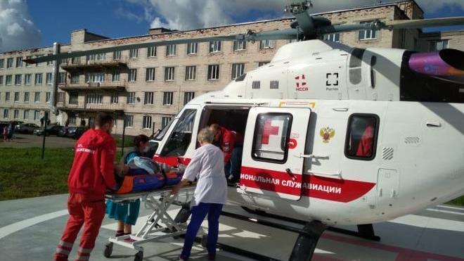 Служба санавиации доставила в больницы Ленобласти четырех пациентов с патологиями сердца