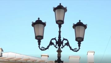 На улицах Петербурга установили светодиодные светильники