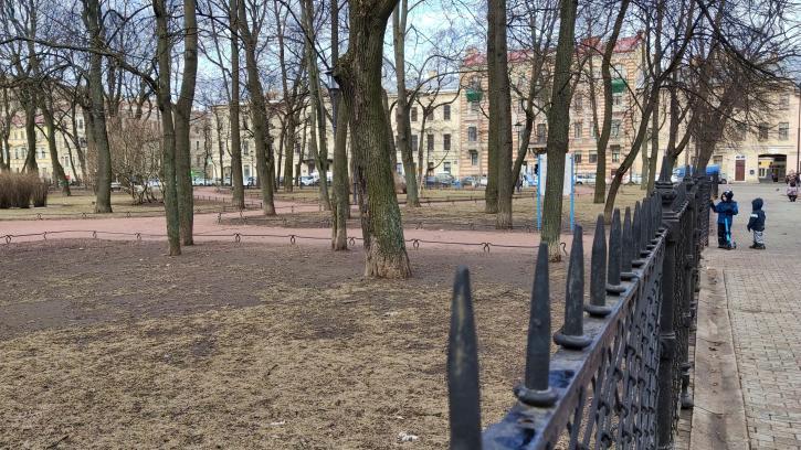 В Петербурге 9 садов и парков открыли для посещения после просушки