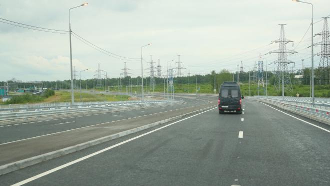 В Петербурге открылся новый участок Усть-Ижорского шоссе