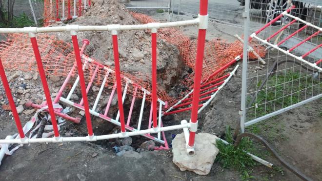 В Петербурге будут жестче наказывать коммунальщиков за отказ восстанавливать территорию после ремонта