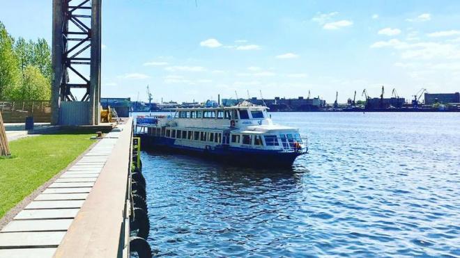 """В """"Порте Севкабель"""" открылся причал для водных прогулок"""