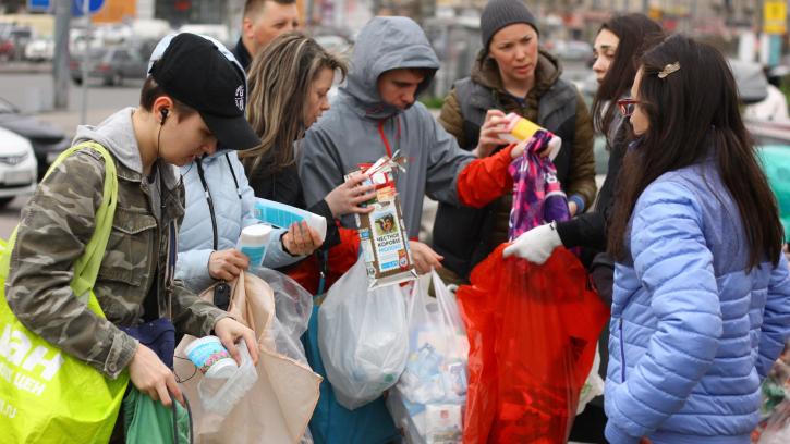 В Петербурге пройдет акция по раздельному сбору мусора