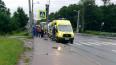 На Петергофском шоссе столкнулись рейсовый и туристический ...