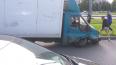 "На Бухарестской улице ""Форд"" на скорости снес три ..."