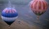 Воздушные шары с пассажирами, сбившись с пути, приземлились в псковских болотах