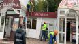 Сотрудники ККИ снесли три торговых павильона