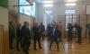 Беглов приехал с визитом в обновленную гимназию №24 на Васильевском острове