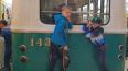 В Петербурге транспортными полицейскими были задержаны ...