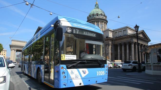 Троллейбусы изменят маршруты из-за ремонта на проспекте Мечникова