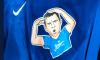 Артем Дзюба надел под игровую форму футболку со своим изображением