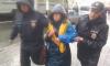 В Петербурге задержанные активисты на первомае провели ночь в полиции