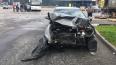 В Петербурге автомобиль каршеринга стал участником ДТП