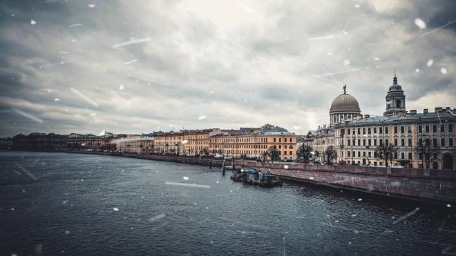 Петербург попал в холодный тыл циклона 8 апреля