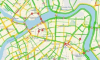 Движение в центре Петербурга начинает стабилизироваться