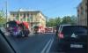 Не доброе утро: в Невском районе тушили расселенный дом