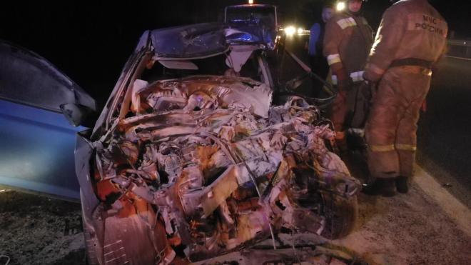 В аварии на Новоприозерском шоссе погиб человек