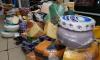 В Петербурге сожгли более тонны сыра, масла и колбасы из ЕС