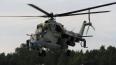 В Смоленской области потерпел аварию военный вертолет
