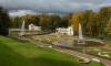 Нижний парк Петергофа закрыли из-за сильного ветра
