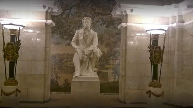 """В петербургском метрополитене рассказали, на каких станциях """"спрятался"""" Пушкин"""