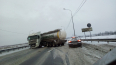 В Петербурге большегрузная автоцистерна ограничила ...