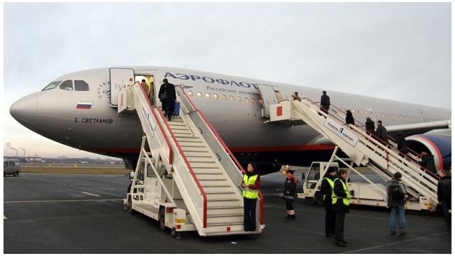 """""""Аэрофлот"""" перевез в 2011 году более 14 млн. пассажиров"""