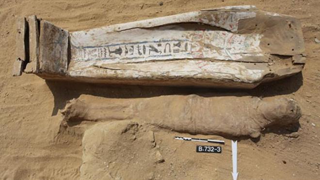 В Египте у подножия самой старой пирамиды нашли десятки странных мумий