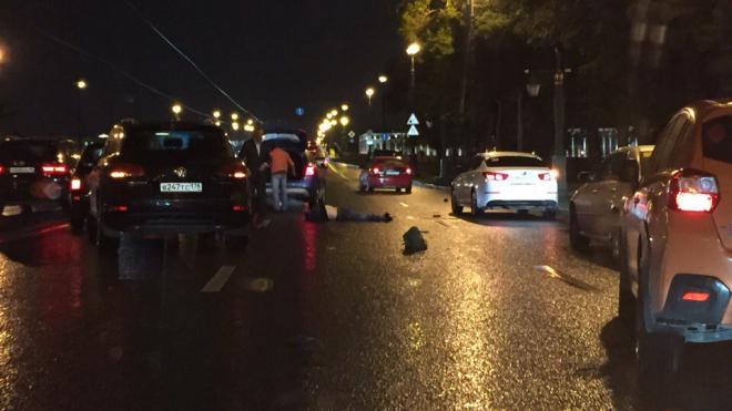 На Каменноостровском насмерть сбили пешехода