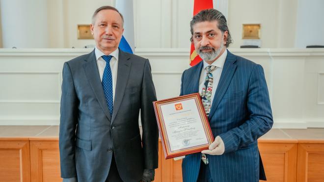 Губернатор Петербурга подвел итоги прошедшей недели