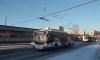 На Заневском автобус протаранил троллейбус. Есть пострадавшие