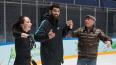 Луиш Нету вышел на лед с прославленными фигуристами, ...
