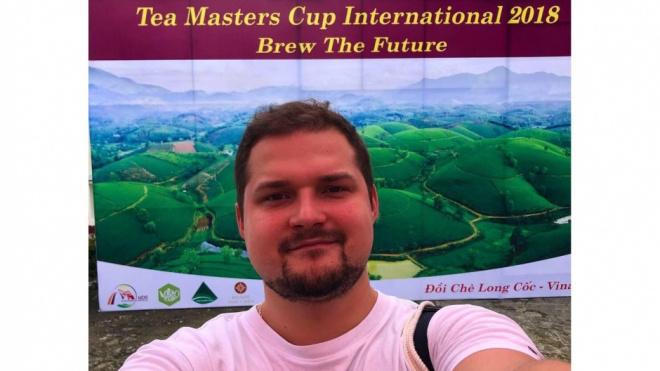 Петербуржец выиграл мировой чайный чемпионат Tea Masters Cup International-2018