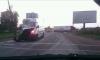 Маршрутное такси влетело под фуру на Красносельском шоссе
