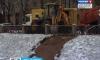 На набережной Черной речки ликвидировали провал грунта