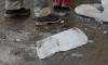 На Лиговском проспекте на девушку свалилась с крыши глыба льда