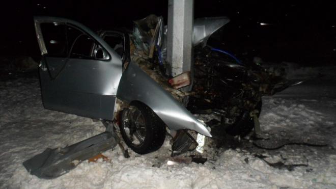 Под Омском на трассе Челябинск-Новосибирск в ДТП погиб молодой парень
