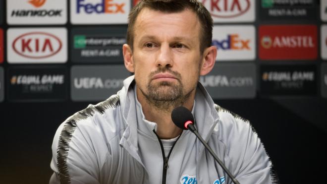 """Сергей Семак прокомментировал поражение """"Зенита"""" от """"Славии"""""""